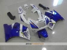 ABS Fairing fit for SUZUKI RGV250 VJ22 MOTOREX  BLUE WHITE