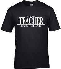 Lehrer T-Shirt Schulfach Student Dozent lehrt primär sekundär Geschenk