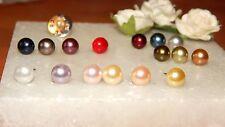 Retro S/P Tie/Cravat/Scarf Pin & 7mm Pearl Crystal-Wedding-Unisex-Accessories