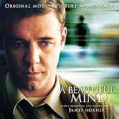 JAMES HORNER - A BEAUTIFUL MIND ORIGINAL FILM SOUNDTRACK - CD NEW (FREE POST)