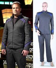 Stargate Atlantis Dr .Rodney McKay Full Costume Uniform Cosplay Halloween #25