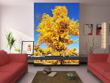 3D Ancient Ginkgo Tree 2080 Wallpaper Decal Decor Home Kids Nursery Mural Home