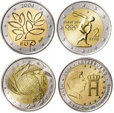 2 euro pièce commémorative 2004 neuve FINLAND, GRECE GREECE, LUXEMBOURG, ITALY