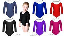 Only Uniform Girls Ballet Dance School PE Game Gymnastics Leotard Stretch Lycra