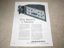 Marantz 7 Preamp Ad, 1964, Article, Rare Ad!