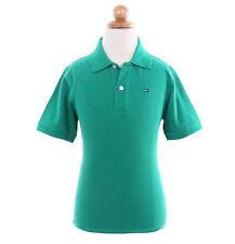 Tommy Hilfiger Children Big Boy Kid Solid Pique 100% Cotton Polo Shirt -$0 Ship