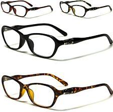 READING GLASSES SPECTACLES READERS VINTAGE LADIES WOMENS +1 2 3 .25 .50 .75 R329