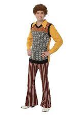 Men's Plus Size 70's Costume