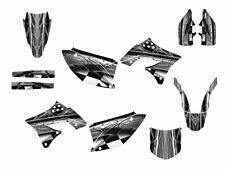 2009 2010 2011 2012 KX 250F graphics Decal Kit for Kawasaki #2001 Gray Metal