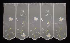 Scheibengardine Panneaux Gardine Scheibenhänger Bistrogardine verschiedene Maße