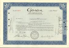 Garan > Garanimals Berkshire Hathaway stock certificate
