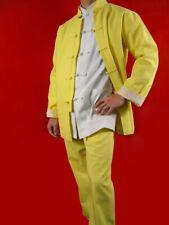 Lin Fin Tenue Doré Kung Fu Tai Chi Vêtement Art Martiaux Sur Mesure