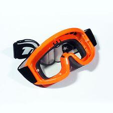 Tuzo Moto MX Enduro Tout-terrain Quad Enfants Orange Goggle & Kit Objectif
