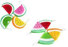 Fruit peluche porte-monnaie melon citron vert orange super kawaii mignon