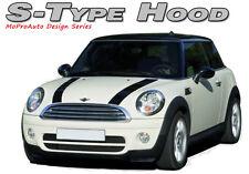 S-Type Dual Hood Stripes Decals Graphics Pro Grade 3M Vinyl fits Mini Cooper
