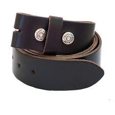 Leder Wechselgürtel Gürtel f. Buckle,Gürtelschnalle Voll Rindsleder,leather Belt