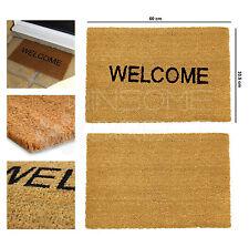 Non Slip PVC Natural Backed Coir Entrance Reception Floor Doormat Home Door Mat