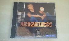 CD--NICK CARTER --NOW OR NEVER--- -ALBUM