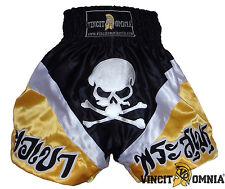 Short Boxe Thailandaise Muay Thai Kick Boxing K1 polyester Vincit Omnia
