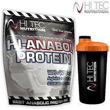 HI-ANABOL PROTEIN 91% 1000g Anabolic Whey Isolate BCAA Glurtamine FREE SHAKER