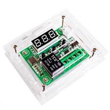 W1209 DC 12V Thermostat Temperaturregelung Schalter Regler Thermometer &Case