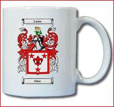 GLASS (SCOTTISH) COAT OF ARMS COFFEE MUG