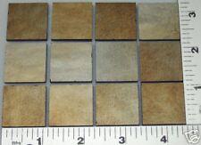 "12 -1"" x 1"" Purple Gold Iridized Bullseye Sheet Glass Bases 90 Coe"