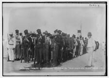 Photo of Fed. troops convoying rebels to  San Juan Del Ulua , Vera Cruz Number 1