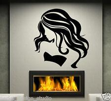 ADESIVI da parete enormi Sexy Donne Adesivo Muro Sticker barbershop n90