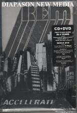 R.E.M. ACCELERATE BOX CD + DVD