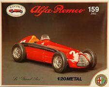 Revival 1:20 - ALFA ROMEO 159 ALFETTA 1951-KIT Kit Metallo Diecast-NUOVO