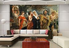 3D Bonne Ange 56 Photo Papier Peint en Autocollant Murale Plafond Chambre Art