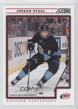2012-13 Score #102 Jordan Staal Carolina Hurricanes Hockey Card
