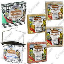 Wild bird suet cake feeder & variety suet cakes deals standard & deluxe