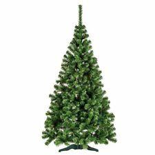 Premium Line Xmas Christmas Tree Green 5-6-7FT FIR Artificial Green Tree Decor