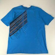 O 'Neill Informal Mangas Cortas Estampada Nueva Camiseta Fit-Azul-Tamaño: S, M, L