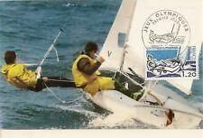CP MAXIMUM PREMIER JOUR JEUX OLYMPIQUES MONTREAL 1976