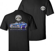 Dodge Super Bee  Mens Black T shirt Mopar