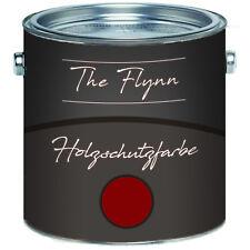 The Flynn Holzschutzfarbe Schwedenrot Wetterschutzfarbe Außen Innen 2,5L 5L 10L