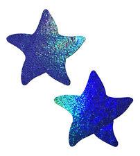 Starfish Liquid Spectrum Blue Sea Star Nipple Pasties by Pastease
