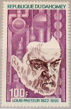 DAHOMEY 1972 502 C173 100th Birthday Louis Pasteur Chemist Bacteriologist MNH