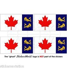 CANADA Garde Côtière Drapeau CANADIENNE CCG Vinyle Stickers Autocollant 50mm x4