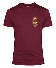 Morocco Retro Badge T Shirt Football Top World Cup Fan Men Women Kids Club L254
