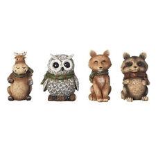 Wildlife Animals w/Scarves Ornaments