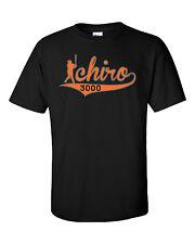 """Ichiro Suzuki Miami Marlins """"3000"""" T-shirt, Long Sleeve, Or OnePiece"""