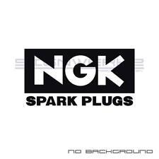 NGK Decal Sticker racing American motorsport racing Euro Spark Plugs Pair