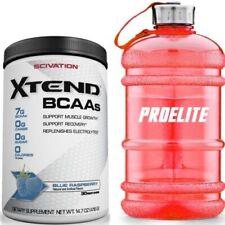 Scivation XTEND BCAAs 375g intra entrenamiento aminoácidos ramificados + Gratis