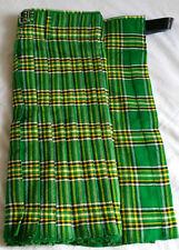 Men's Scottish Traditional Highland Acrylic IrishTartan Kilt 5 yards 13oz