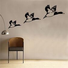 Vintage shabby chic Flying Ducks rustic wall art sticker Retro SC26