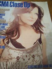 Martina McBride Covers CMA Close Up Trade Magazine 2011